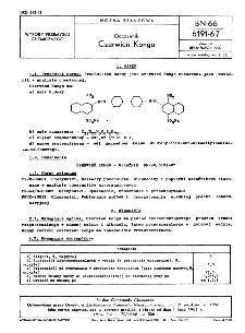 Odczynniki - Czerwień Kongo BN-66/6191-67