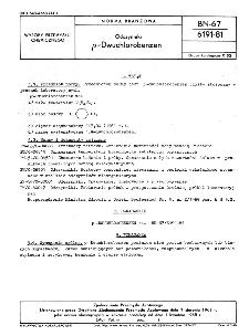 Odczynniki - p-Dwuchlorobenzen BN-67/6191-81