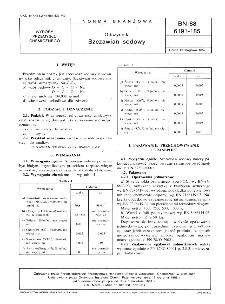 Odczynniki - Szczawian sodowy BN-88/6191-185