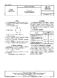 Odczynniki - Cykloheksanon BN-69/6193-05