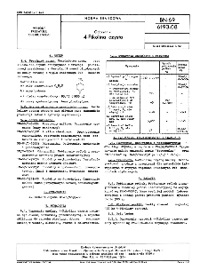 Odczynniki - 4-Pikolina czysta BN-69/6193-08