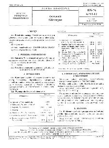 Odczynniki - Gliceryna BN-76/6193-12