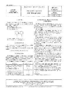 Odczynniki organiczne - 2,2'-Dwupirydyl BN-87/6193-21