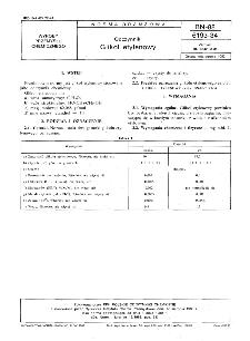 Odczynniki - Glikol etylenowy BN-88/6193-34