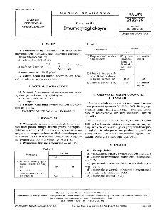 Odczynniki - Dwumetyloglioksym BN-83/6193-35