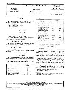 Odczynniki - Kwas winowy BN-84/6193-39
