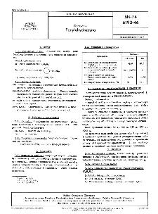 Odczynniki - Fenylohydrazyna BN-74/6193-46
