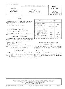 Odczynniki - Octan etylu BN-87/6193-48