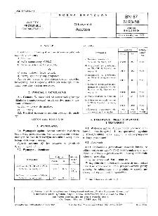 Odczynniki - Aceton BN-87/6193-50