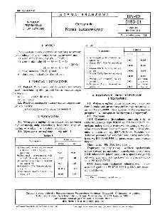 Odczynniki - Kwas szczawiowy BN-90/6193-51