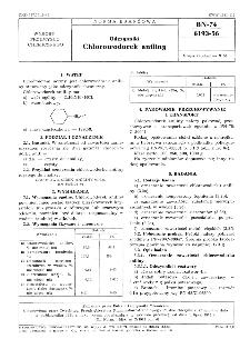 Odczynniki - Chlorowodorek anilinowy BN-74/6193-56