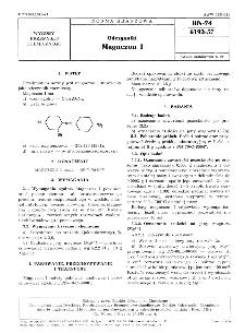 Odczynniki - Magnezon I BN-74/6193-57