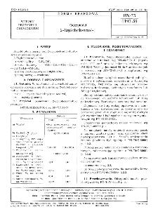 Odczynniki - 2-Etyloheksanol-1 BN-75/6193-59