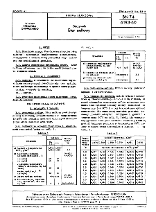Odczynniki - Eter naftowy BN-74/6193-60