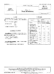 Odczynniki - Kwas aminooctowy BN-75/6193-63