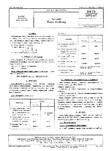 Odczynniki - Kwas mlekowy BN-75/6193-67
