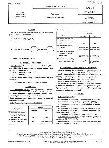 Odczynniki - Dwufenyloamina BN-75/6193-68