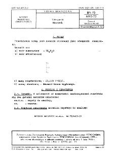 Odczynniki - Mocznik BN-75/6193-72