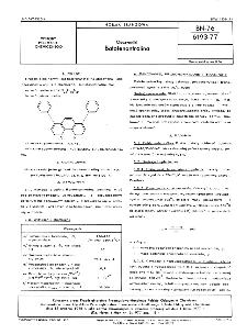 Odczynniki - Batofenantrolina BN-76/6193-77