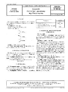 Odczynniki - Cytrynian amonowy wg Petermanna BN-84/6193-85