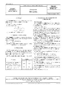 Odczynniki - Benzoina BN-84/6193-87