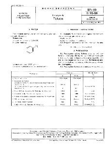 Odczynniki - Toluen BN-85/6193-89