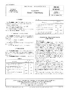 Odczynniki - Octan miedziowy BN-85/6193-91