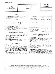 Odczynniki - Anilina BN-85/6193-92