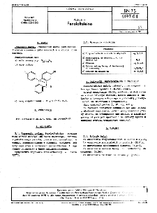 Wskaźniki - Fenoloftaleina BN-75/6197-04