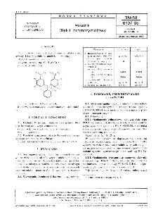 Wskaźniki - Błękit bromotymolowy BN-88/6197-05
