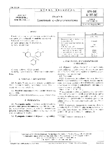 Wskaźniki - Czerwień o-chlorofenolowa BN-88/6197-06