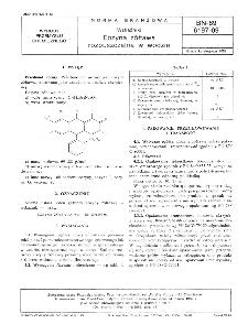 Wskaźniki - Eozyna żółtawa rozpuszczalna w wodzie BN-89/6197-09