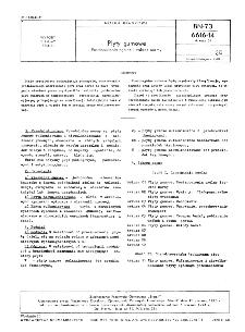 Płyty gumowe - Postanowienia ogólne i zakres normy BN-73/6616-