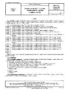 Niewulkanizowane płyty antykorozyjne - Postanowienia ogólne i zakres normy BN-74/6616-15 Arkusz 01