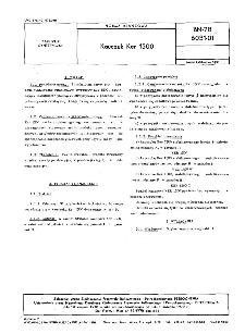 Kauczuk Ker 1500 BN-78/6031-01