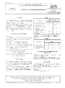 Kauczuki wysokostyrenowe BN-88/6031-07