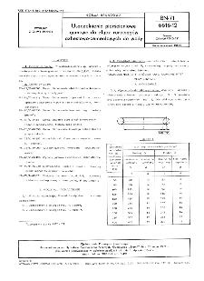 Uszczelnienia pierścieniowe gumowe do złącz rurociągów azbestowo-cementowych do wody BN-71/6616-12