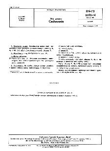 Płyty gumowe - Cechowanie BN-73/6616-14 Arkusz 03