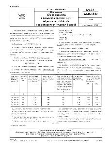 Płyty gumowe - Wulkanizowane i niewulkanizowane płyty odporne na działanie rozcieńczonych kwasów i zasad BN-73/6616-14/12