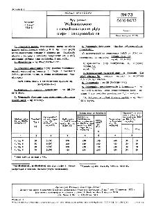 Płyty gumowe - Wulkanizowane i niewulkanizowane płyty olejo- i benzynoodporne BN-73/6616-14/13