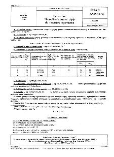 Płyty gumowe - Niewulkanizowane płyty do naprawy ogumienia BN-73/6616-14.14