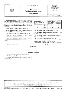 Płyty gumowe - Wulkanizowane płyty podkładowe BN-73/6616-14 Arkusz 20