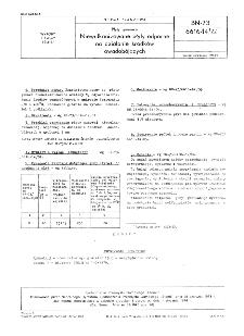 Płyty gumowe - Niewulkanizowane płyty odporne na działanie środków owadobójczych BN-73/6616-14/22