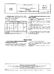 Niewulkanizowane płyty antykorozyjne - Wymiary i niedopuszczalne błędy wykonania BN-74/6616-15 Arkusz 02