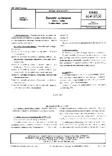 Barwniki syntenowe - Metody badań - Postanowienia ogólne BN-83/6041-07.00