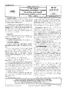 Barwniki syntenowe - Oznaczanie koncentracji i odcienia barwników syntenowych do barwienia włókien poliestrowych - Metoda kąpielowa BN-83/6041-07.01
