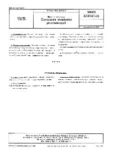 Barwniki syntenowe - Oznaczanie właściwości pianotwórczych BN-83/6041-07.05