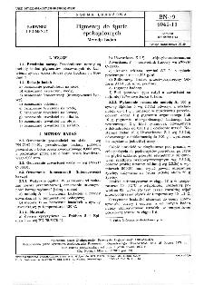 Pigmenty do żywic epoksydowych - Metody badań BN-79/6041-13