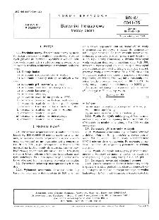Barwniki helasolowe - Metody badań BN-87/6041-25