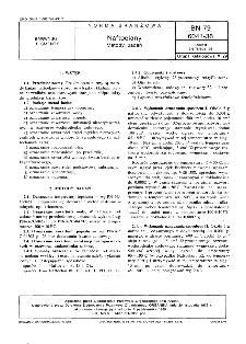 Naftoelany - Metody badań BN-79/6041-36